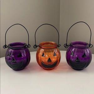 Glass Pumpkin Set 🎃